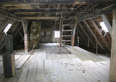 Dachboden im Schusterhaus Sanspareil